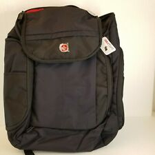 "Swiss Gear Back Pack 18"" ScanSmart  Tablet Safe Trolley Strap NWT"