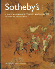 SOTHEBY'S CHINESE AND JAPANESE CERAMICS & WORKS OF ART / AMSTERDAM 4 DECEMB 2002