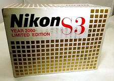 Empty box for Nikon S3 Year 2000 Rangefinder camera     -  Free Shipping USA