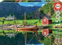 Barco Vikingo puzzle 1500 piezas Educa 18006