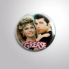 """GREASE MUSICAL MOVIE - Pinbacks Badge Button 2 1/4"""" 59mm"""