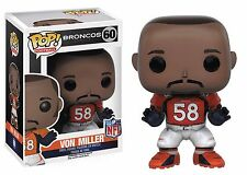 Funko POP NFL Wave 3 #60 Von Miller Denver Broncos Vinyl Figure NEW