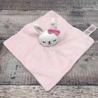 Tesco F&F Pink Bunny Rabbit Soft Hug Toy Plush Comforter Blanket Blankie Soother