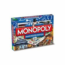 Manchester Monopoly Board Game