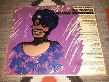 SAN FRANCISCO BLUES FESTIVAL 1981 ORIGINAL SILKSCREEN CONCERT POSTER - RARE!