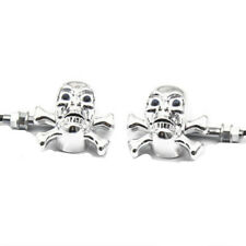 Universal Skull Bones LED Turn Signal Lights Indicator Motorcycle Cafe Racer ATV