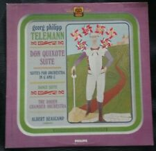 Telemann Don Quixote & Dance Suites Philips Beaucmap Lp - PHC 9003 - VG+