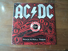 "AC/DC / ROCK N ROLL TRAIN - WAR MACHINE (2008) 7"" SP classic rock NEUF ET SCELLE"