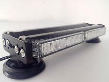 DOUBLE SIDE 72 LED WORK LIGHT BAR BEACON LIGHT WARNING STROBE LIGHT YELLOW&WHITE