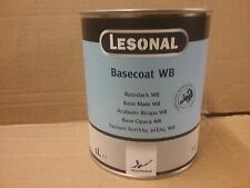 Lesonal WB 14  Water Based tinter 1 litre tin  Akzo Car refinish basecoat paint