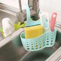 Sink Sponge Storage Rack Hanging Drain Basket Kitchen Bathroom Organizer Holder