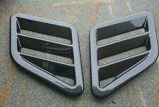 FOCUS RS MK3 LATEST STYLE CARBON EFFECT BONNET VENTS, FITS BMW 3 SERIES/M3/M-TEC