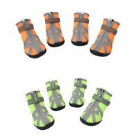 Hundeschuhe Pfotenschutz Mesh Hunde Schuhe mit anti-rutsch Sohle für kleine,