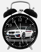 "BMW M Model Alarm Desk Clock 3.75"" Home or Office Decor E221 Nice For Gifts"