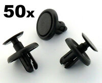 50x Lexus & Toyota Plastic Clips for Engine Bay Covers & Shields (7mm Hole)