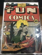 More Fun Comics #53 Front Cover ONLY! 2nd Spectre! Rare!