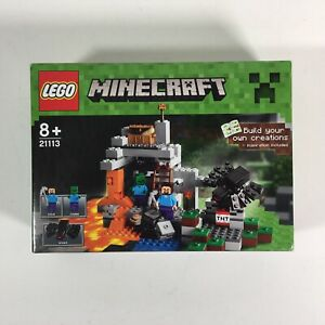 Lego Minecraft 21113 The Cave Retired Product Brand New Factory Sealed