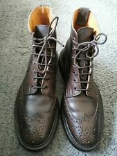 173- Boots Marron TRICKER'S 8/42 Bon État