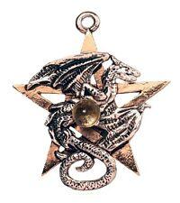 GOTICO MEDIO EVO gioiello ciondolo amuleto collana drago dragone dracogramm