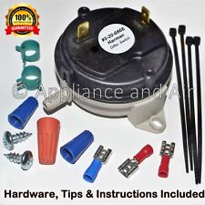 3-20-3433 Harman Pellet Stove Differential Vacuum Switch +Instruct. Ships TODAY!
