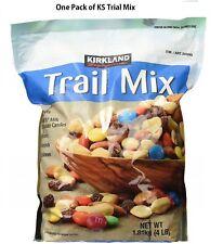 Kirkland Signature Trail Mix, Peanuts, M&M , Raisins, Almonds and Cashew. 4Ib