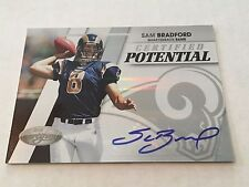 Sam Bradford 2010 Panini Certified Potential RC Auto #/25 Vikings FREE SHIP