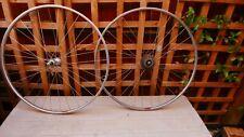 Vintage MAVIC MODULE E2, 700C wheelset with Shimano 600 Hubs