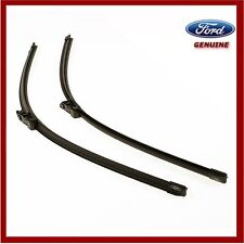 Genuine Ford Focus Wiper Blades 2011 Onwards. Pair Of Flat Blades. 1731996. New!