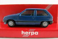 Herpa 2036 Opel Corsa A (1982-1987) in enzianblau 1:87/H0 NEU/OVP