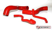 Vauxhall CORSA VXR 1.6 Turbo Manguera De Agua Kit de 4 piezas-Rojo Z16 A16 Motor