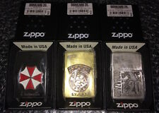 BIOHAZARD 20th Zippo Lighter Anniversary UMBRELLA STARS Resident Evil Japan NEW