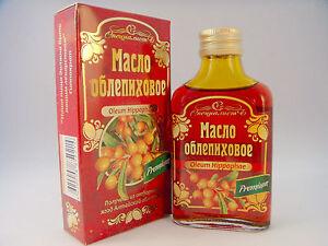 100% Natural sea buckthorn oil (oblepiha) oil 100ml. High Quality premium 03/22