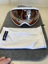 White Electric EG2 Goggles