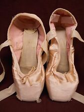 Chacott Pointe Shoes Ballet Dance Used Collecting Display Shabby Style Staging