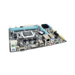 SCHEDA MADRE COMPUTER H55 LGA 1156 DDR3 DUAL CHANNEL MICRO-ATX VGA HDMI.