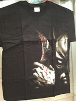 BATMAN TWO-FACE DOUBLE-SIDED T-SHIRT L (42-44) NEW DC w TAG(DETECTIVE JLA 135678