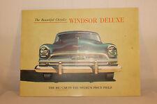 Original 1954 Chrysler Windsor Deluxe Brochure, Nice Original