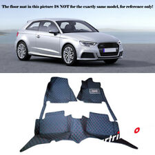 For Audi 2014-2016 A3 8V  Waterproof Front & Rear Floor Mats Full Cover