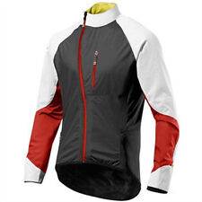 Mavic HC H2O Cycling Waterproof Jacket Black White Red Medium New - Retail $300