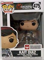 Funko Pop Kait Diaz Gears Of War Video Game #475 Digital Code Microsoft Vinyl