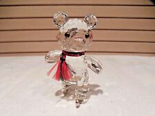 SWAROVSKI CRYSTAL FIGURINE--KRIS BEAR ON SKATES--#7637NR