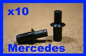 For MERCEDES 10 boot trunk trim lining panel cover retainer pin fastener clips