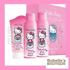 HELLO KITTY COFFRET CADEAU KIT de SOINS Shampooing, Gel Douche, Crème Mains