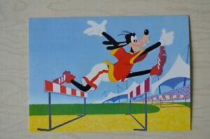 1 Walt Disney Postkarte von Horn Der Hürdenläufer