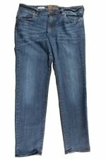 Kut From The Kloth Women's Blue Catherine Boyfriend Jeans Size 0