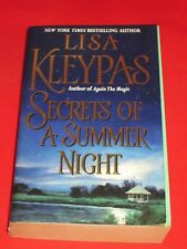 msm SALE : LISA KLEYPAS ~ SECRETS OF A SUMMER NIGHT