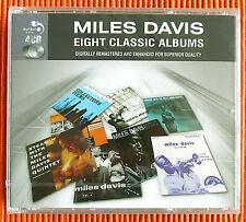 MILES DAVIS - EIGHT CLASSIC ALBUMS    4CD Set Remastered  Jazz   SEALED