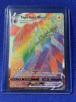 TAPU KOKO VMAX - 166/163 - RAINBOW RARE BATTLE STYLES  - MINT CONDITION