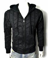 True Religion Brand Jeans Men's Allover Print Zip Hoodie Sweatshirt - 103138
