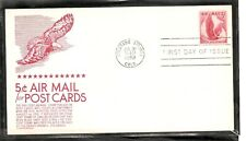 US SC # C50 Eagle in Flight FDC. Anderson Cachet Card